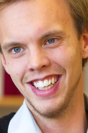 Joakim Sjöblom från Falun gick vidare i Martin Timells nya TV-serie Uppfinnarna.