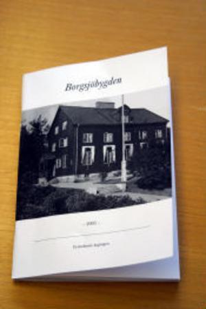 En ny årgång av Borgsjöbygden harv kommit från tryckeriet och huvudtemat i den är telegrafstationer.