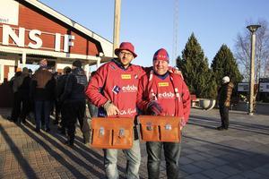 Stefan Hansson och Lasse Blom har bandyportfölj.