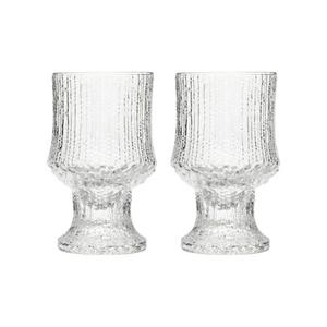 Klassiker. Iittala glasbruk grundades 1881 av smålänningen Petrus Magnus Abrahamsson i byn Iittala nära Tavastehus. Ultima Thule heter glasserien som Tapio Wirkkala skapade på 60-talet, inspirerad av den smältande isen i Lappland.  Glasen finns fortfarande i produktion, 398 kronor för två.