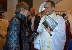Den nya kyrkoherden i Funäsdalen Mattias Huss.