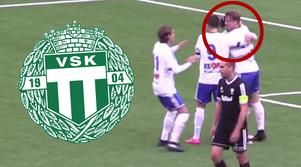 Kevin Custovic, IFK Västerås, spelade för VSK mot Dalkurd.