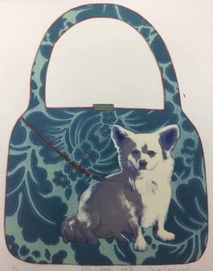 ...inklusive en Doggy Bag, här döpt till Dog-i-bag, skämtsamt och fantasirikt