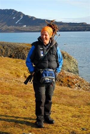 POLARGUIDE. Cecilia Hed Malmström lever under långa perioder bland annat på Antarktis. Vem som tar hand om barnen är en fråga hon ofta får av kvinnor.