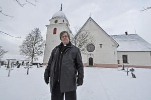 Kyrkoherde Sven Trägårdh tycker att den tidiga Julottan i Rättvik är något speciellt att bevara. På söndag tar han emot församlingen klockan 04.00.