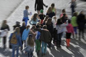 Ju större en grupp är desto lägre blir kostnaden per elev, skriver Göte Waara.