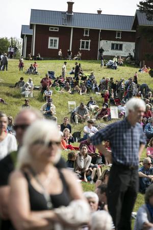 Omkring 8000 personer besökte Bingsjöstämman.