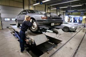 Kontrollbesiktning ett svepskäl för att motverka arbetslösheten?Foto: Anders Wiklund / SCANPIX
