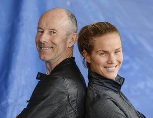Ingemar Stenmark och Marie Serneholt gör upp om segern i TV4:s