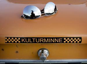 Den här gamla Volvon hade enligt ägaren uppnått en så aktningsvärd ålder att den förtjänade att kallas kulturminne. Men vem hade glömt solglasögonen?