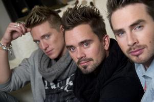 Danny Saucedo, Erik Segerstedt och Mattias Andréasson är EMD.