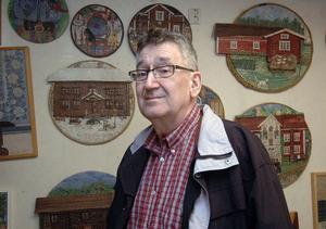 Anderserik sköld är en drabbad man. Först cancer och sedan aortabråcket som brast i december.