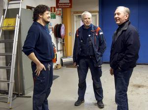 Omvälvande. Att sluta efter ett långt arbetsliv känns konstigt men spännande tycker Lars Gustavsson som lämnar Ahlstroms i Ställdalen.