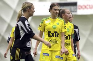 Karin Weinacht gjorde sin bästa match i Ljusdalströjan senast mot Huge.