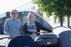 Amanda Wallkulle och Amanda Ögren.