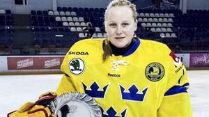 Ellen Jonsson från Söderhamn får åka över till Kanada och spela JVM.
