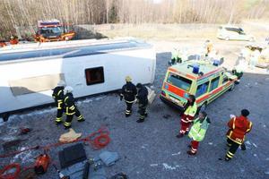 Räddningstjänstens övningsområde användes.