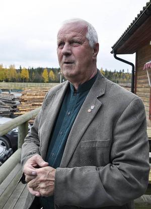 Lennart Oskarsson, styrelseordförande SUAB.