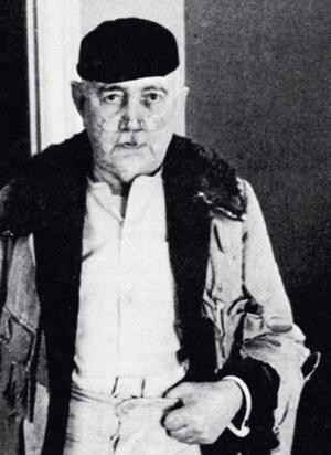 Eric Hermelin, runt år 1940.