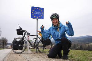 Fredrika Ek har cyklat genom mer än 20 länder.