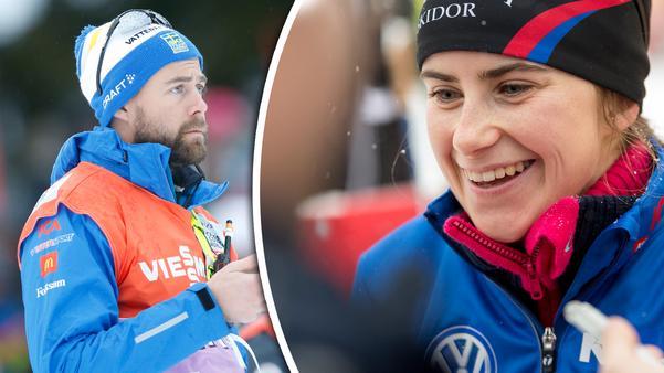 Rikard Grip har sin plan klar för Ebba Andersson, 19, från Sollefteå.