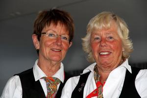 Britta Furenborn och Birgitta Eriksson är de två som är generaler för stämman.