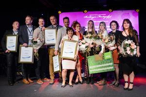 Vinnarna i Borlänges Företagsfest som hölls på Liljan i Borlänge på torsdagskvällen.