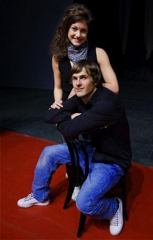 David Lindgren och Caroline Johansson Kuhmunen är två rosade huvudrollsinnehavare.Foto: Claudio Bresciani/Scanpix