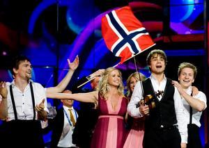 Norges Alexander Rybak med bidraget Fairytale vann överlägset finalen i Eurovision Song Contest på lördagskvällen. Foto: Pontus Lundahl/Scanpix