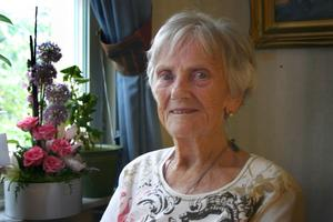 Gulli Jansson, 90 år.