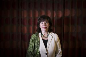Ingrid Eiken Holmgren, VD på Mäklarsamfundet.