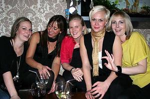 Tabazco. Eva, Karolina, Elin, Sara och Cecilia