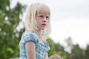Vilma, 6 år, från Uppsala var hänförd.– Jag har försökt gå härifrån flera gånger men Vilma vägrar, säger hennes pappa Ola Stafhammar.