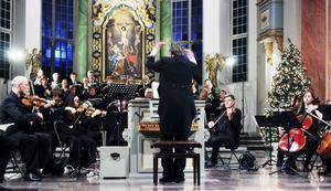 Årets Juloratorium var en höjdpunkt under ledning av Lars G Fredriksson.