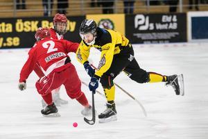 Lasse Buskqvist gjorde ett mål och spelade fram till viktiga 4–4 mot Gustavsberg.