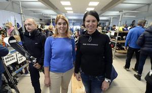 Marknadsgeneralerna Petra Kreij och Veronica Eriksson.