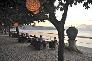 Jimbaran är en av de mest omtyckta stränderna på Bali.