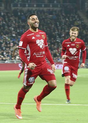 Saman Ghoddos låg bakom straffen som gav ÖFK segern mot Häcken.