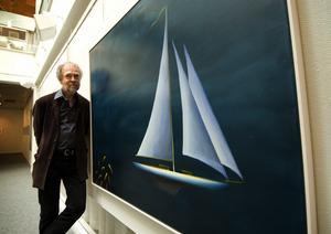 Båtinspiration. Bo Cronqvist har seglat sedan han var barn.