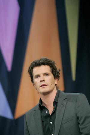 """Nöjd programchef. Martin Österdahl noterade den högsta tittarsiffran sen Carola vann med """"Evighet""""."""
