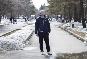 Joel Othén har gjort två säsonger i Chabarovsk-klubben Neftyanik – och han kommer fullfölja med en tredje till hösten.