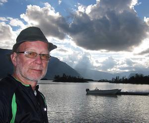 Fjällvandringar är också en passion för Staffan Öberg, sedan 1969. Här i Rapadalen 2013.