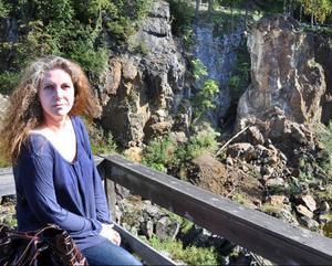 Maud Herkules, Västerede, har släktband med Herkulesgruvan längst ner i Döda Fallet.