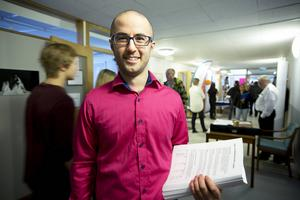 Peyman Vahedi gläder sig över att gymnasieskolorna i Kramfors nu på nytt uppmärksammas.