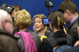Finansminister Magdalena Andersson föreslog i går att överskottsmålet slopas.