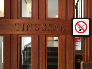 Rättegången hölls i tingssalen i Söderhamn i onsdags.
