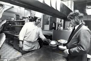 8 februari 1978. Stadshotellet, Gunnar Fröberg och Ronald Hellqvist.