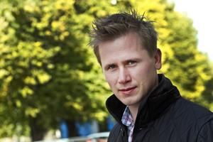 Roger Hedlund, distriktsordförande för Sverigedemokraterna i Gävleborg.