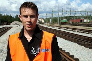 Per-Erik Welker på Trafikverket, projektledare för upprustningen. Arkivbild