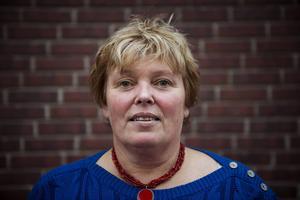Carina Ytterström, ordförande i Polisförbundet region Nord.